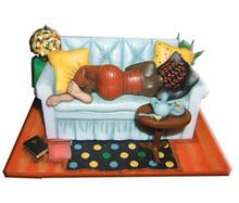 Steeping and Sleeping Figurine - Annie Lee