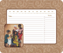 Three on One Day Planner & Mouse Pad - Annie Lee