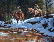 Rocky Mountain Ute painting