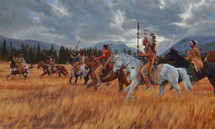 Black Hills War Path, Lakota giclee, James Ayers