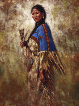 Calmly She Turns - Lakota