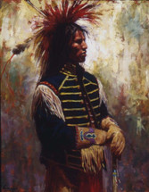 Superior Stature - Lakota giclee