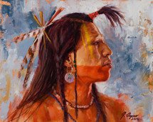 power-of-the-war-paint-mandan-warrior-painting-james-ayers