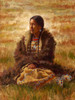 Prairie Angel, Cheyenne Woman Painting, James Ayers