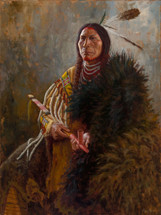 Distinguished Cheyenne, Warrior Chief, James Ayers