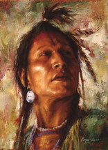 Always Watchful, Crow giclee by James Ayers