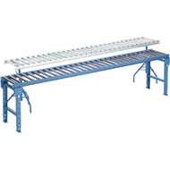 "MA146 Steel Roller Conveyors (15""Wx10'L) 4""-o/c"