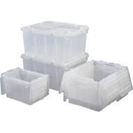 """CF505 Containers (2.7 cu ft) OD: 23.9""""L x 19.6""""W x 12.6""""H"""