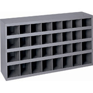 "CA138 32-bin Cabinets 33-3/4""Wx12""Dx19-1/4""H"