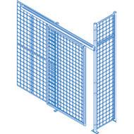 KD107 Partition DoorsHD Sliding 8'Wx10'H