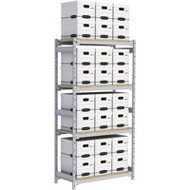 """RN012 Wide Span 24 boxes 42""""Wx18""""Dx84""""H"""