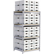 """RN013 Wide Span 48 boxes 42""""Wx32""""Dx84""""H"""