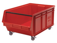 "CC448 MOBILE Giant Bins (RED) 18-3/8""Wx29""Dx11-7/8""H"
