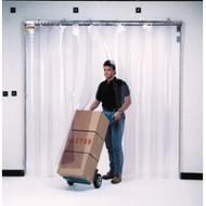 """KF026 Standard Doors12"""" strips 8'Wx8'H"""