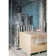 "KF005 Low Temp Doors 8"" strips 5'Wx8'H"