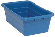 "CD247 Cross Stack Plastic Bins (BLUE) 25-1/8""Lx16""Wx8.5""H"