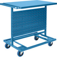 Mobile Racks Double-Sided with No Bins Starting at