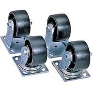"TEP230 JOBOX 4"" Casters (Heavy Duty )"
