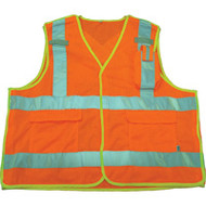 SAR618 Mesh Surveyors Safety Vests (Medium)