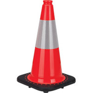 "SEB770 Premium Traffic Cones With Collar (18"")"
