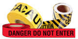 "SED026 Hanson Tape (2-mil/1000'L) ""DANGER DO NOT ENTER"""