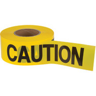 "SEK397 Zenith Tape (1.5-mil/1000'L) ""CAUTION"""