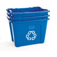 "JC060 Recycling Bins 14-3/4"" High"