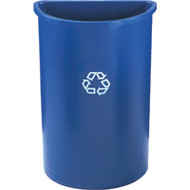 "NG279 Recycling Containers Half round28"" high"