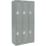 FJ157 Steel Lockers 2 tiers3 banks