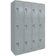 FJ162 Steel Lockers 3 tiers4 banks