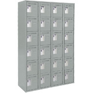 FJ174 Steel Lockerettes  6 tiers/4 banks