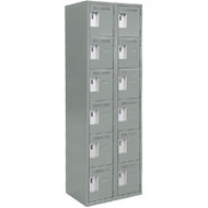 FJ172 Steel Lockerettes  6 tiers/2 banks