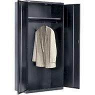 "FJ865 Wardrobe Cabinets (Black) 36""Wx18""Dx72""H"