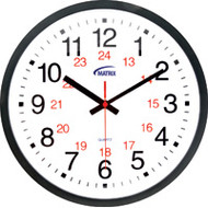 HT072 Wall Clocks 12/24 hour