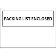 PB428 Packing List Envelopes Backloading