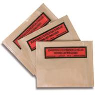 PA189 Packing List Envelopes Backloading/Bilingual