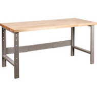 "FF656 Workbenches (w/laminated wood tops) 30""Wx72""Lx34""H"