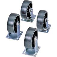 "NB992 Casters (4 per kit) 8"" steel"