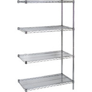 "RL074 Chromate Shelving ADD-ON 72""Wx24""Dx63"""
