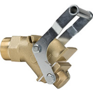 "PE363 Gate Valves HD Brass2"" bung"