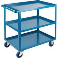 "MB459 HD Shelf Carts 3 shelves 24""Wx36""Dx36""H"