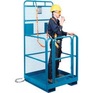 "MH800 Forklift Baskets1000-lb cap 48""x48"""