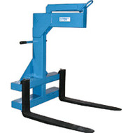 "LA211 Adj Carriage Lifters 2000-lb cap42"" forks"