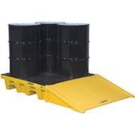 SBA855 Drum Spill Pallets 4-drumNo drain