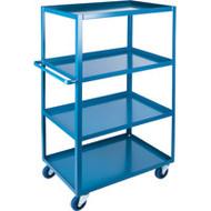 "MB472 HD Shelf Carts 4 shelves 24""Wx48""Dx61""H"