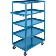 "MB474 HD Shelf Carts 5 shelves 18""Wx30""Dx61""H"