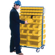"CB091 Racks YELLOW Bins 36""Wx24""Dx63""H"