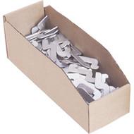 "CB060 Corrugated Bins (boxes) 8""Wx18""Dx4.5""H"