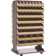 "CB328 Mobile DS Racks/Corrugated Boxes 33.5""Wx12.25""Dx65""H"