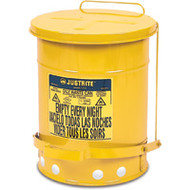 SR364 Oily Waste Cans (YELLOW) 53 liters/14 US GAL